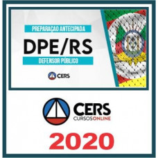 DPE RS - DEFENSOR PÚBLICO DO RIO GRANDE DO SUL - DPERS - (CERS 2020)